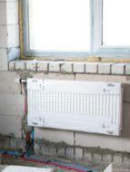 Монтаж радиатора с боковым подключением в частном доме