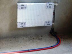 Монтаж радиатора в доме
