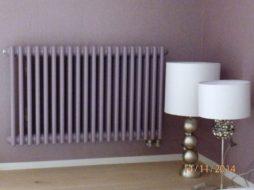 Монтаж радиатора Zehnder в доме