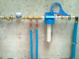 Монтаж водомерного узла в частном доме