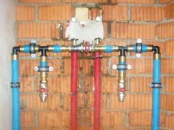 Трубы под водоподготовку в квартире